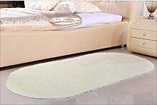 LPD Teppich Europäischen Stil Oval Teppich Bett