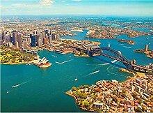 LPLH Adult Jigsaw Puzzle Luftbild Sydney Sydney