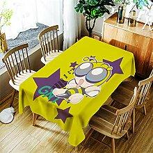 LPLH Cartoon Giraffe Tischdecke Kreatives