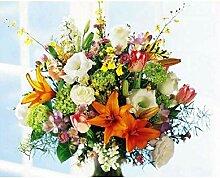 LPLH Puzzle 1000 Stück Blume DIY Geschenkset auf