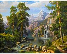 LPLH Puzzle 1000 Stück Landschaft Berg auf
