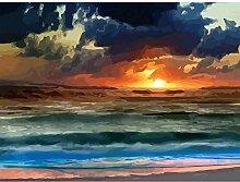 LPLH Puzzle 1000 Stück Sonnenuntergang Landschaft