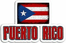 Lplpol 3 Stück Aufkleber Puerto Rico Varsity