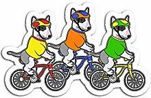 Lplpol 3 Stück Aufkleber Radfahren Rennrad