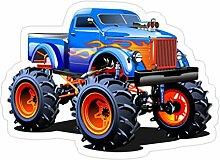 Lplpol 3 Stück Cartoon Monster Truck – 10,2 cm