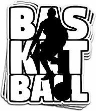 Lplpol Aufkleber für Basketballspieler, Trainer,