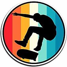 Lplpol Aufkleber für Skateboarder, Geschenk,