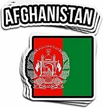 Lplpol Aufkleber mit afghanischer Flagge,