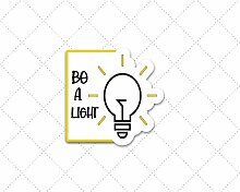 Lplpol Be A Light Aufkleber, Bibelvers Aufkleber,