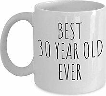 Lplpol Best 30 Year Old Ever Tasse Rae Dunn