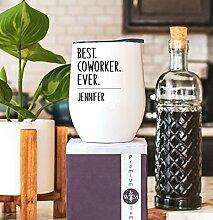Lplpol Best Coworker Weinglas – Becher für