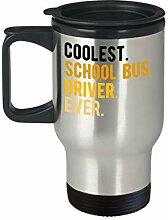 Lplpol Bus Driver Geschenkbecher Best Ever Travel