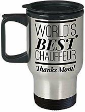Lplpol Funny Mom Travel Mug Chauffeur Mom Mug Taxi