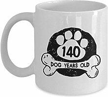 Lplpol Hunde-Kaffeetasse, lustig, 312 ml, 140