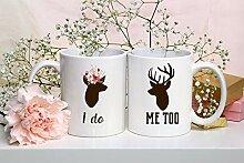 """Lplpol Kaffeebecher-Set mit Aufschrift """"I Do Me"""