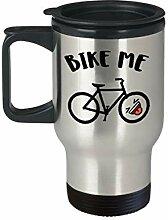 Lplpol Mountain Bike Travel Mug Bike Me Lustiger