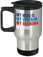 Lplpol Proud Army Grandchild Geschenk Grandmother