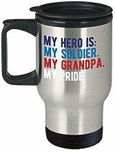 Lplpol Proud Army Grandchild Grandfather Soldier