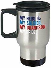Lplpol Proud Army Grandmother Grandfather Grandson