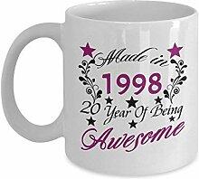 Lplpol Tasse zum 20. Geburtstag für Teenager, 325