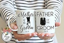 Lplpol Tassen-Set für Vater und Mutter des