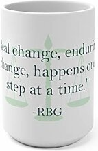 Lplpol Wirkliche Änderung Zitat RBG Tribut-Becher