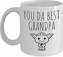 Lplpol You Da Best Opa Baby Yoda Tasse Opa
