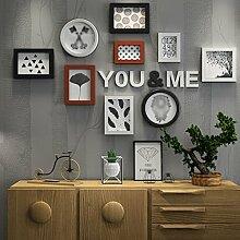 LPYMX Kreative Fotowand Modern Minimalist
