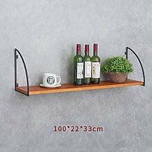 LQ Weinregal Wand Roter Weinbecherhalter für den