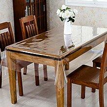 lqgpsx Durchsichtige Plastik Tischdecken Rechteck,