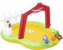 LQHPP Kinderpool Aufblasbares Schwimmbecken