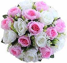 lqnMay 18 Kopf Kunstseide Rosen Blumen