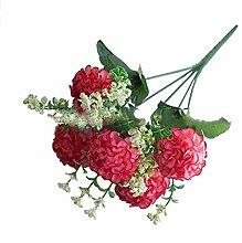 lqnMay Künstliche Blume 1 Bündel künstliche