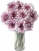lqnMay Künstliche Blumen Gerbera Daisy