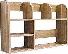 LQQFF Einfacher Tisch Regal Kleinen Schreibtisch