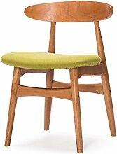 LQQFF Skandinavische Retro-Stühle, einfache
