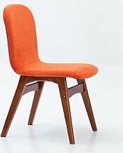 LQQFF Skandinavischer Retro- Stuhl, Einfacher