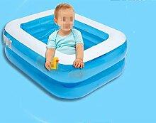 LQQGXL,Bad Aufblasbare aufblasbare Babybadewanne des aufgefüllten aufblasbaren Pools Aufblasbare Badewanne ( Farbe : Electric pump )