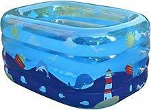 LQQGXL,Bad Kinder aufblasbares Schwimmbecken dick