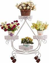 LQQGXL Blumenrahmen schmiedeeisernen