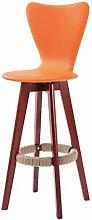 LQQGXL Sessel aus massivem Holz, Stuhl aus