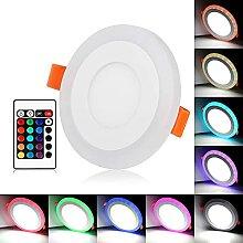 LQWE LED Einbaustrahler, RGB Deckenstrahler