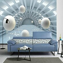 Lqwx 3D Wallpaper Für Wohnzimmer Home Improvement Moderne Hintergrund Wandmalerei Wandmalerei Seidenpapier Abstract Tunnel Raum 200 Cmx 140 Cm