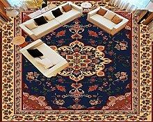 LqwxDie Europäische dunklen Parkettboden wasserfester Farbe Badezimmer selbstklebende Aufkleber wallpaper Papel de Parede 3d-Bodenbeläge-430 cmX 300cm