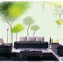 Lqwx Fashion TV Hintergrundbild des Wohnzimmer schlafzimmer kinderzimmer Tapete Wandbilder für Wände 3d Wand Papier-120cmX100cm