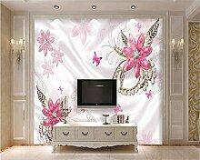 LqwxSenior Tapete europäischen Luxus Schmuck Hintergrund Wand papel de parede para Sala atacado Wallpaper für Wände 3 d-300 cmX210cm