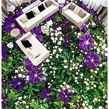 lqwx Sticker Böden auto-gripado lebendigen Blumen