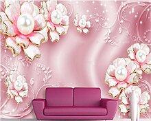 LqwxTapeten Fashion schöne Dekoration Malerei wallpaper Romantische full house Schmuck Hintergrund papel de Parede-200cmX 140cm