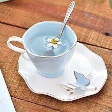 LQYCoffee Cup Fee Keramikkaffeetasse