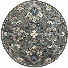 LR Home Traditioneller Grauer Teppich,